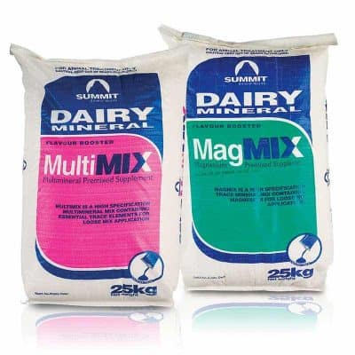 Summit Dairy Minerals - MultiMix and MagMix 25kg