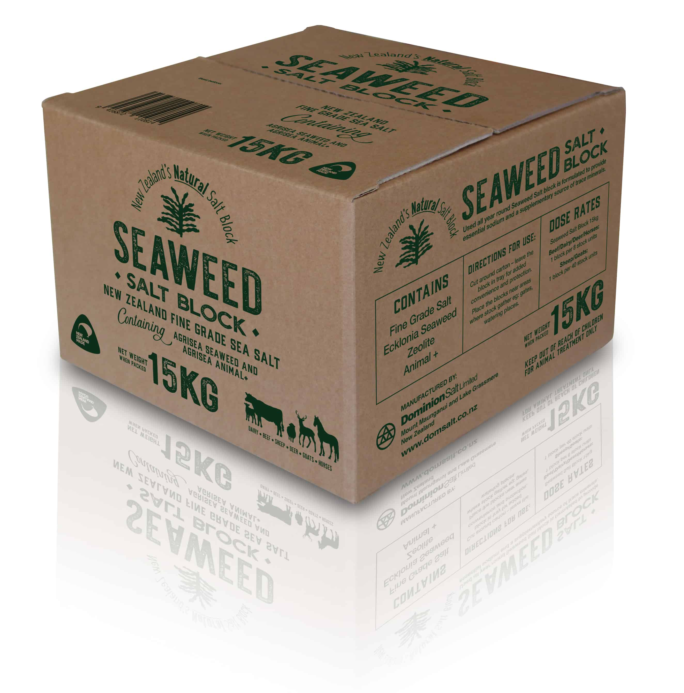 Natural Seaweed 15kg Block - in store now!