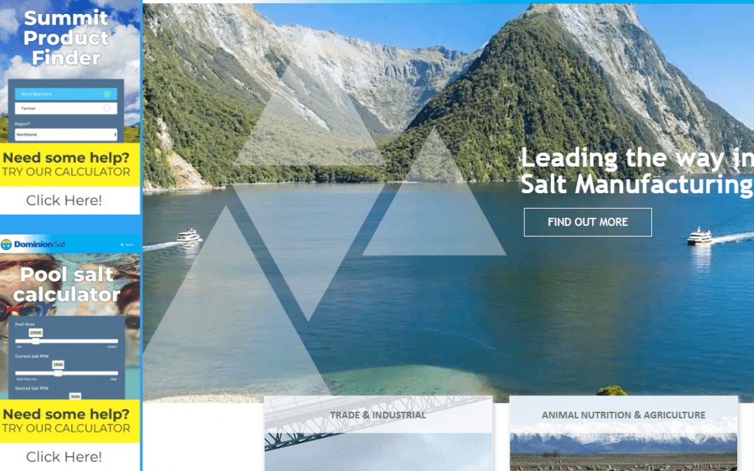 Website Updates – New Product Finder